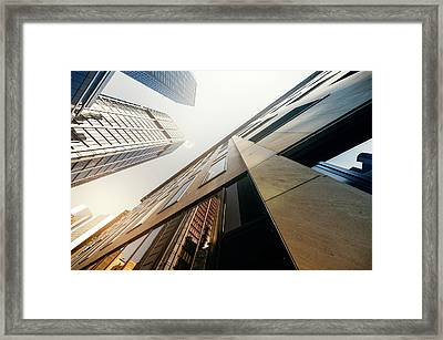 Futuristic Office Building Framed Print by Ppampicture