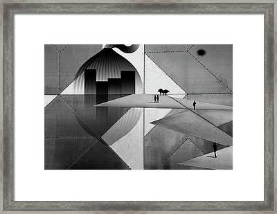 Futuro Framed Print