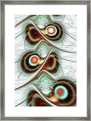 Fuzzy Feelings Framed Print by Anastasiya Malakhova