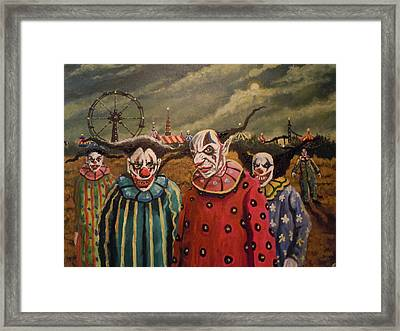 Fy Beta Decappa Framed Print by James Guentner