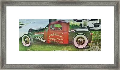 G And M Roos Inc. Framed Print by PainterArtist FIN