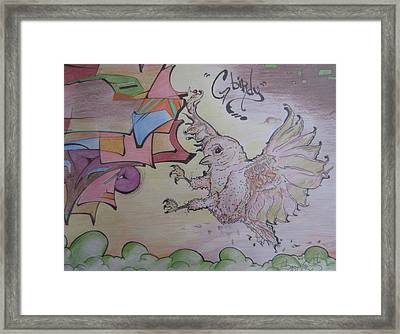 G Birdy Framed Print by Erik Franco