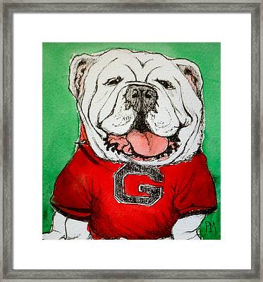 G Dawg Framed Print by Pete Maier