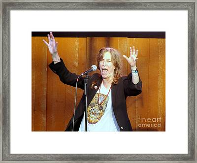 Framed Print featuring the photograph G-l-o-r-i-a by Ed Weidman