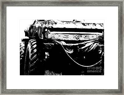 G M C Mudder Framed Print
