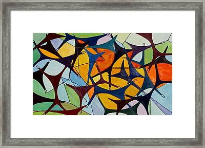 G-string Theory Framed Print by Susi LaForsch