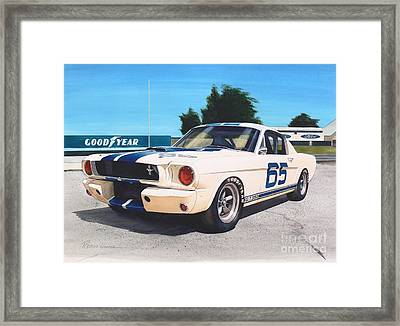G T 350 Framed Print by Robert Hooper