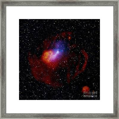 G327.1-1.1-pulsar Wind Nebula Framed Print by Science Source