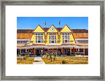 Ga Dalat Framed Print by Roberta Bragan