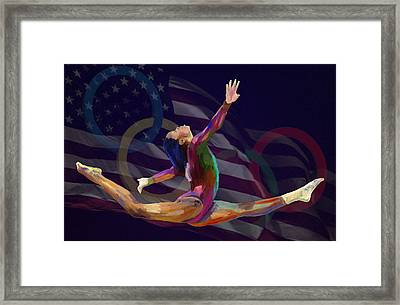 Gabby Framed Print by GCannon