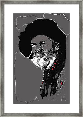 Gabby Hayes #3 Framed Print by David Lee Guss