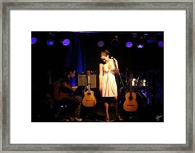 Gabriela's Duet Framed Print by Shawn Lyte