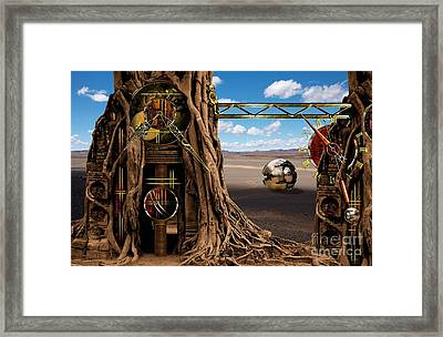 Gagilus Time Dream Framed Print by Franziskus Pfleghart