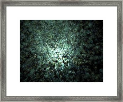 Gaia Fading A.29 Framed Print
