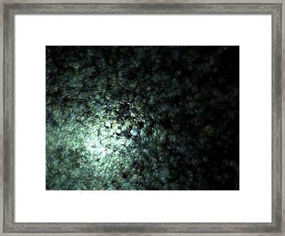 Gaia Fading A.51 Framed Print