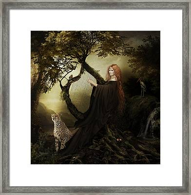 Gaia Greek Goddess Framed Print