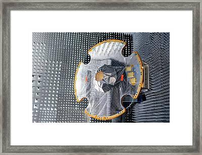 Gaia Space Probe Testing Framed Print by European Space Agency