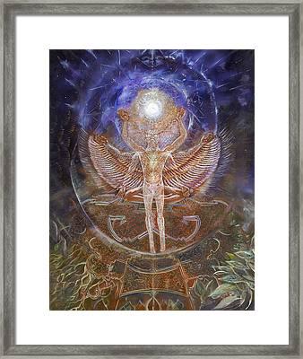 Gaiascension Framed Print by Jerod  Kytah