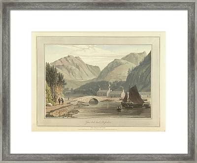 Gair-loch Head Framed Print
