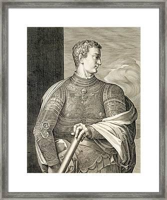 Gaius Caesar Caligula Emperor Of Rome Framed Print by Titian