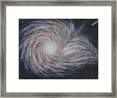 Galactic Amazing Dance Framed Print