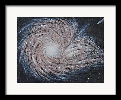 Galaxy Fusion Framed Prints