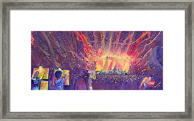 Galactic At Arise Music Festival Framed Print by David Sockrider