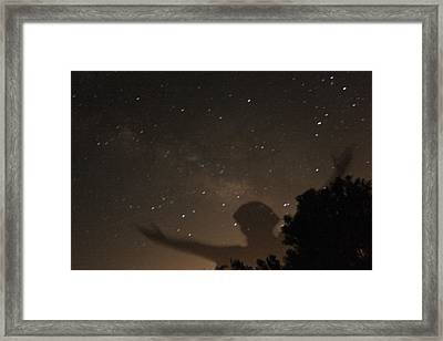 Galactic Celebration Framed Print