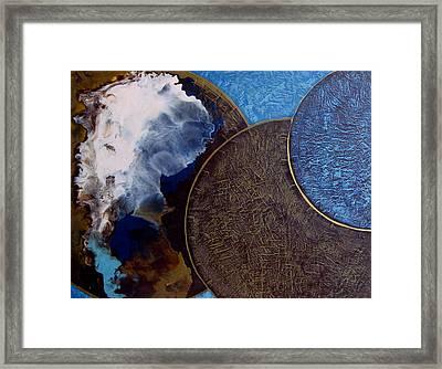 Galactic Consciousness Framed Print
