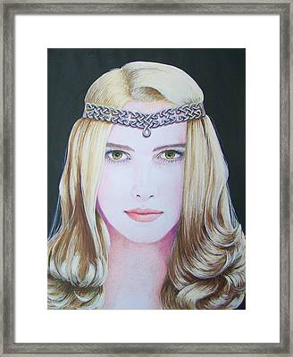 Galadriel Of Lothlorien Framed Print