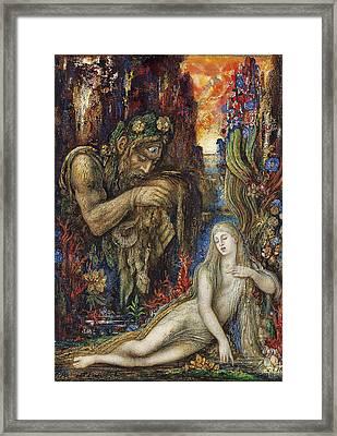 Galathea Framed Print