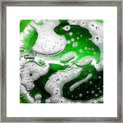 Galaxia Mistol Framed Print