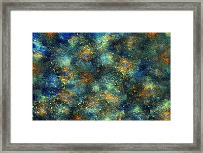 Galaxies  Framed Print by Betsy Knapp