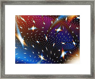 Galaxies Framed Print by Shazam Images