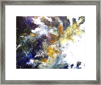 Galaxy 1 Framed Print by Betty M M   Wong