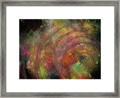Galaxy 34g21a Framed Print by Betsy Knapp