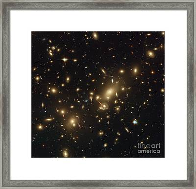 Galaxy Cluster Abell 2218 Framed Print