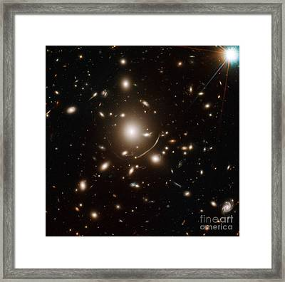 Galaxy Cluster Abell 383 Framed Print
