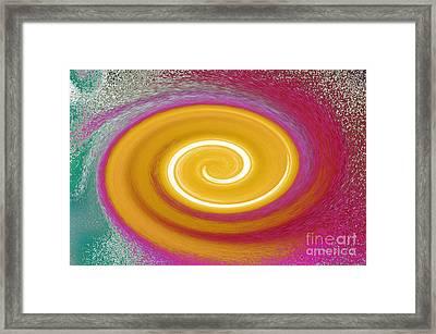 Galaxy Dreaming Framed Print by Alys Caviness-Gober