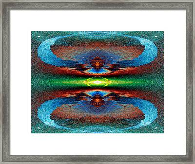 Galaxy Eye For Engagement 2013 Framed Print by James Warren