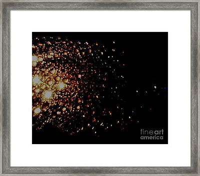 Galaxy-j Framed Print by Baljit Chadha