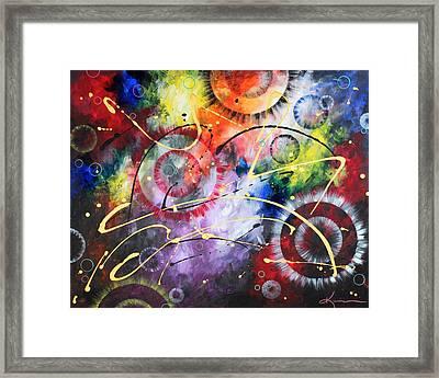Galaxy Framed Print by Kume Bryant