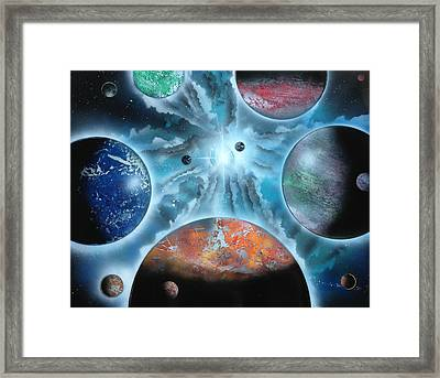 Galaxy Framed Print by Markus Fussell