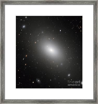 Galaxy Ngc 1132 Framed Print