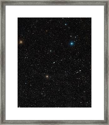 Galaxy Ngc 3783 Framed Print
