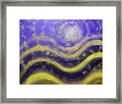 Galaxy Of The Mind Framed Print by Christopher Vidal