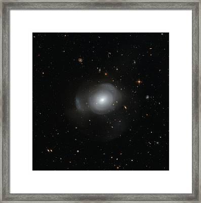 Galaxy Pgc 6240 Framed Print by Nasa/esa/stsci/judy Schmidt