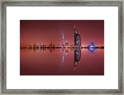 Galaxy Reflections Framed Print