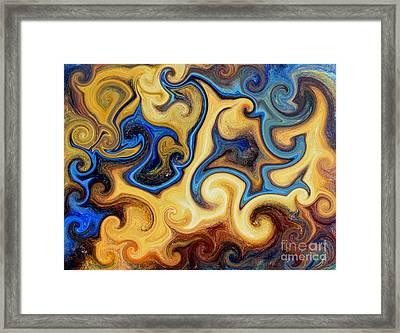 Galaxy Unkown Framed Print by Michael Grubb