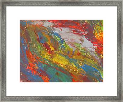 Galaxy Within Framed Print by Ronald Weatherford